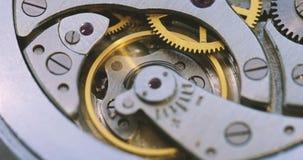 老时钟结构 影视素材