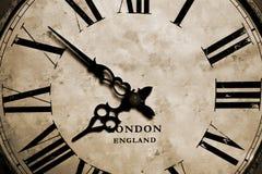 老时钟 库存图片