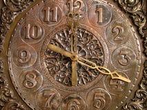 老时钟 免版税库存图片
