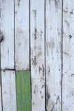 老明亮的被绘的篱芭 免版税图库摄影
