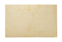 老明信片。 免版税库存照片
