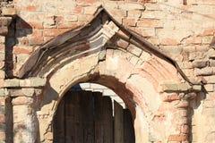 老曲拱的片段 图库摄影