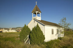 老有历史的教会 免版税图库摄影