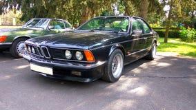 老朋友BMW 635电缆敷设船小轿车汽车 库存图片