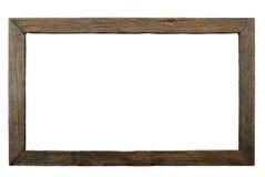 老木制框架 免版税库存图片