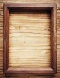 老木制框架 库存图片