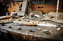 老木匠业 库存照片