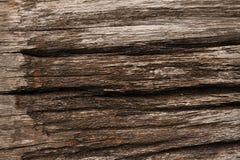 老木地板在乡下 免版税库存照片