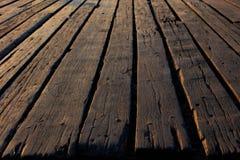 老木地板背景 免版税库存照片