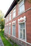 老木大厦在Kirillov镇 库存照片