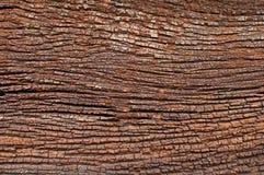 老木头破裂的纹理 图库摄影