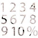 老木存贮编号百分比符号集 折扣销售用法的,工作流布局,图,企业步选择理想, 库存例证