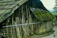 老木客舱 库存照片