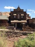 老木房子看法  库存照片