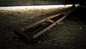 老木拐杖或医疗拐杖 免版税库存照片