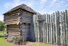 老木材堡垒 图库摄影