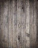 老木板有生锈的钉子背景 免版税库存照片