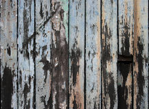 老木板条构造背景 图库摄影