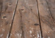 老木板条的木背景 免版税库存图片