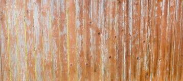 老木板条篱芭  垂直的老委员会背景  库存照片