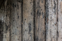 老木板条纹理 库存照片