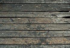 老木板条纹理 免版税库存照片