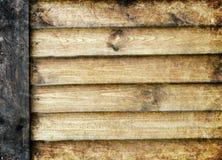 老木板条背景或纹理 免版税库存图片