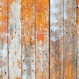 老木板条抽象风格化背景在rusti崩裂 图库摄影