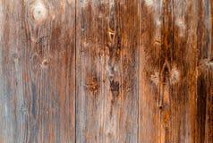 老木棕色纹理,设计的背景 水平地 免版税库存图片