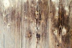 老木棕色纹理,设计的背景 水平 免版税库存图片