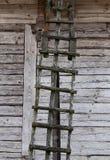 老木楼梯 库存图片