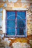 老木窗口 免版税库存图片