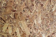 老木箱蔗渣被回收的背景 免版税库存照片