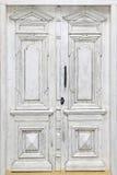 老木腐朽的门 图库摄影