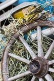 老木轮子 库存图片