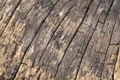 老木头构造背景 图库摄影