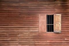老木pannel和窗口 免版税库存照片
