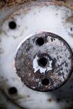 老机器的金属零件 免版税库存图片