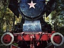 老机车 免版税图库摄影