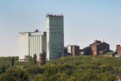 老村庄农业大厦电梯 免版税库存图片