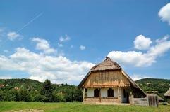 老村庄房子 库存照片