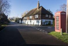 老村庄, Chartham,肯特,英国 图库摄影