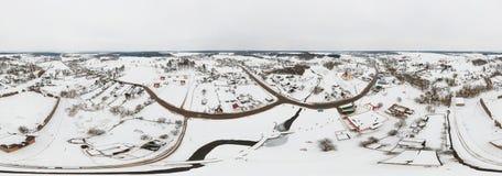 老村庄Krevo,白俄罗斯 库存图片