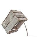 老条板箱陷井 库存图片