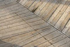 老板条构造木头 免版税库存照片