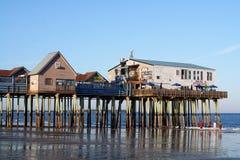 老果树园海滩,缅因 免版税库存图片