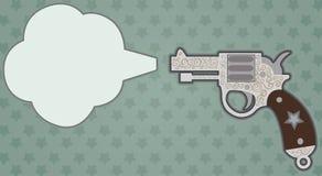 老枪 向量例证