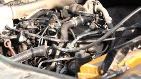 老柴油引擎 影视素材