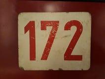 老标志172 图库摄影