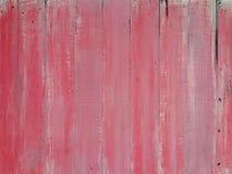 老桃红色木墙壁 库存图片